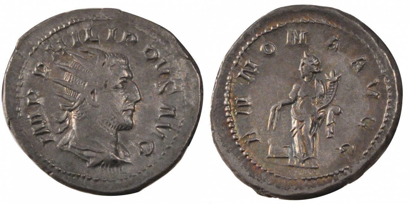 Antoninianus Roma Philip I AU(55-58)