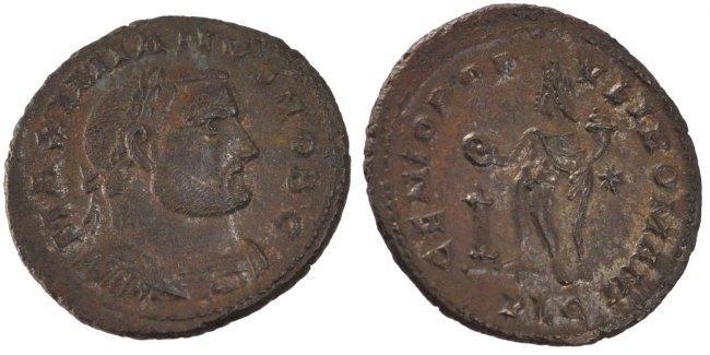 Follis Lyons Galerius AU(50-53)