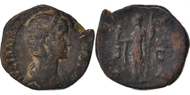 Sestertius Roma Julia VF(20-25)