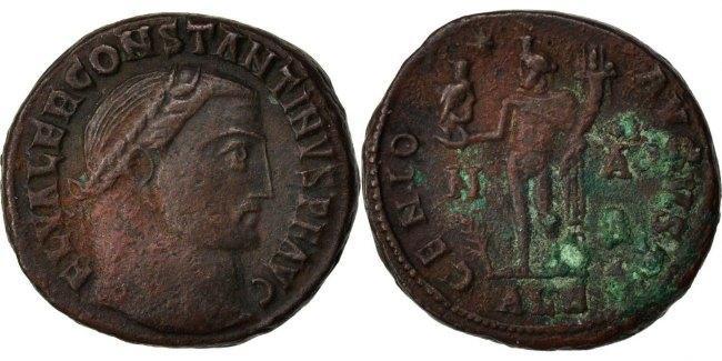 Nummus Alexandria Constantine I AU(50-53)