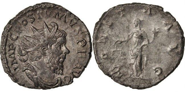 Antoninianus Trier  EF(40-45)