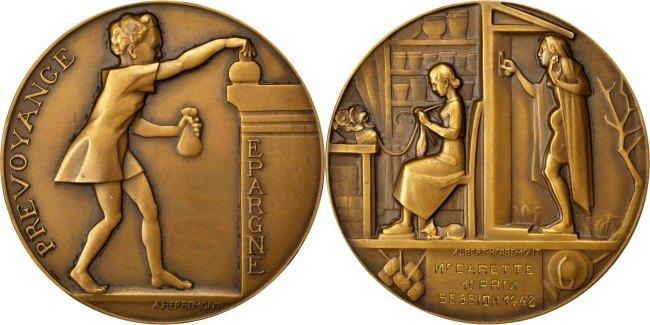 Medal 1948 Frankreich VF(30-35)