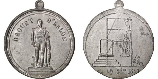 Medal 1849 Frankreich AU(55-58)