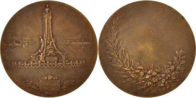 Medal 1910 Frankreich EF(40-45)