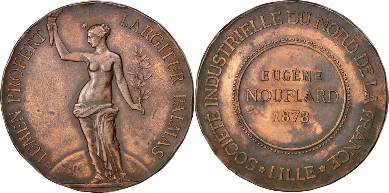 Medal 1878 Frankreich EF(40-45)
