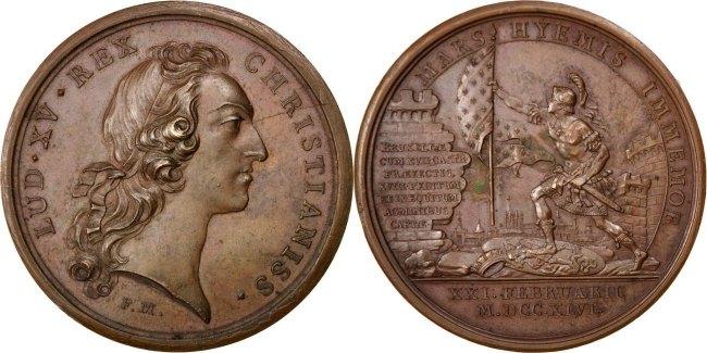 Medal 1746 Frankreich AU(55-58)
