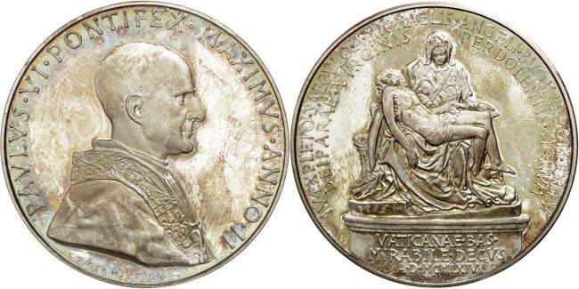 Medal Vatikan AU(50-53)