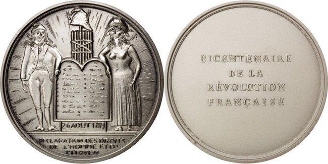 Medal 1988 Frankreich MS(60-62)