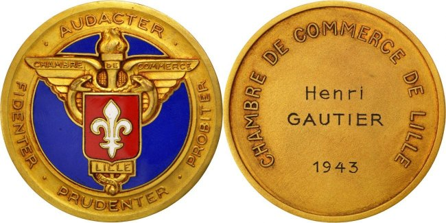 Medal 1943 Frankreich MS(60-62)