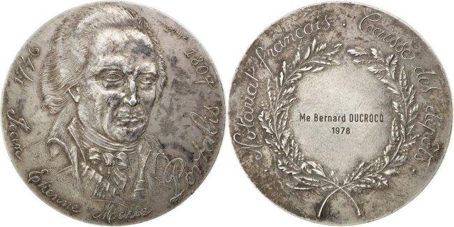 Medal 1978 Frankreich AU(50-53)