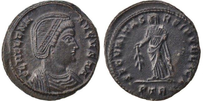 Nummus Trier Helena AU(55-58)