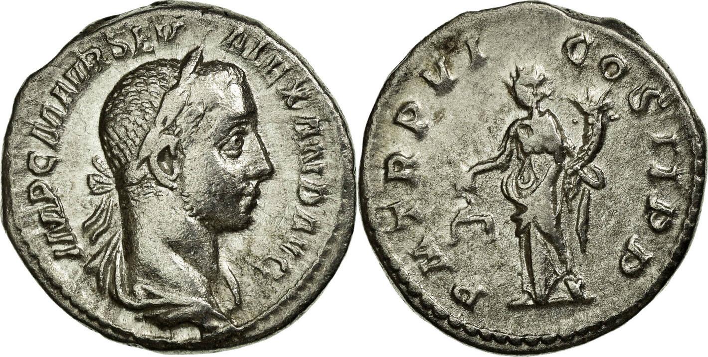 Denarius  Alexander AU(50-53)