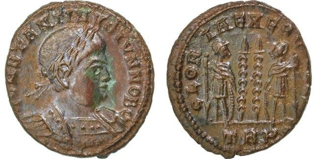 Nummus Trier Constantine II AU(50-53)