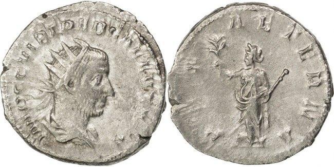 Antoninianus  Trebonianus Gallus AU(50-53)