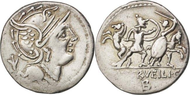 Denarius  Servilia EF(40-45)