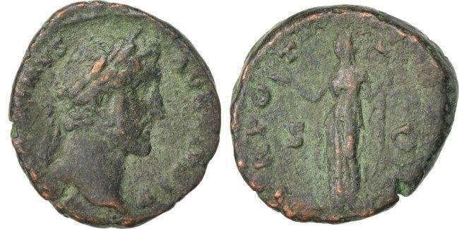 As  Antoninus Pius VF(30-35)