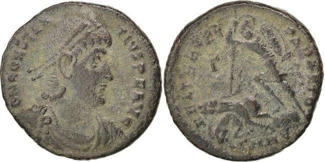 Maiorina  Constantius II EF(40-45)