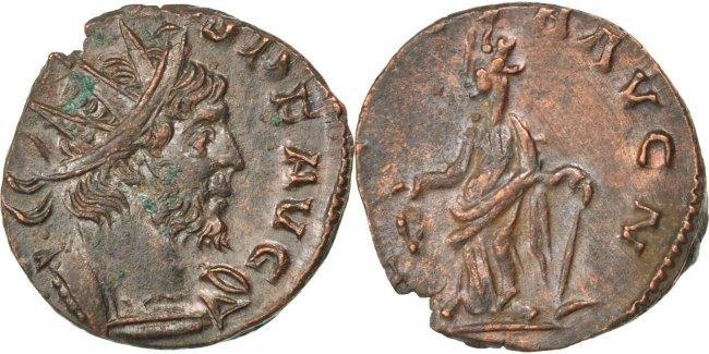 Antoninianus  Tetricus II AU(50-53)