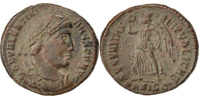 Nummus Siscia Valentinian I AU(55-58)