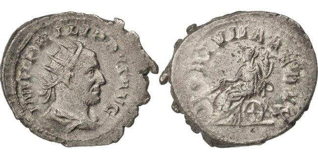 Antoninianus  Philip I EF(40-45)