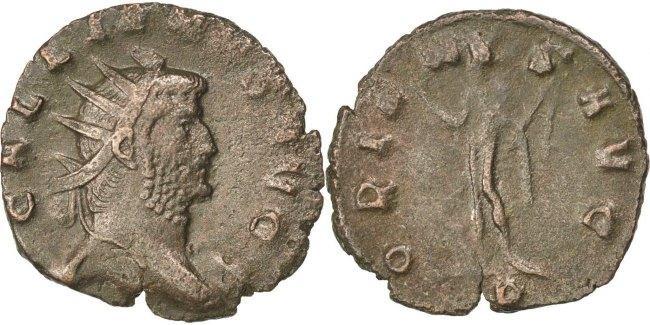 Antoninianus  Gallienus, Billon, Cohen #685, 2.30 SS
