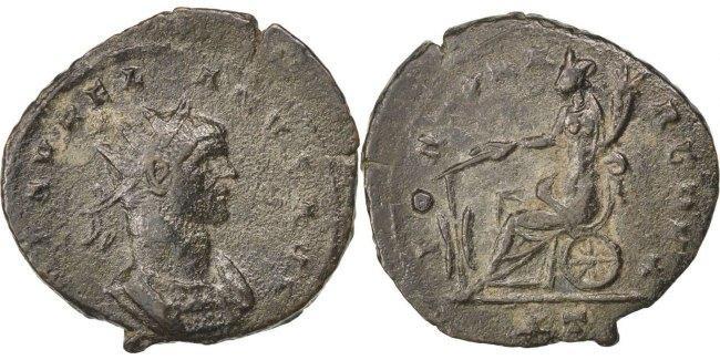 Antoninianus  Aurelia EF(40-45)