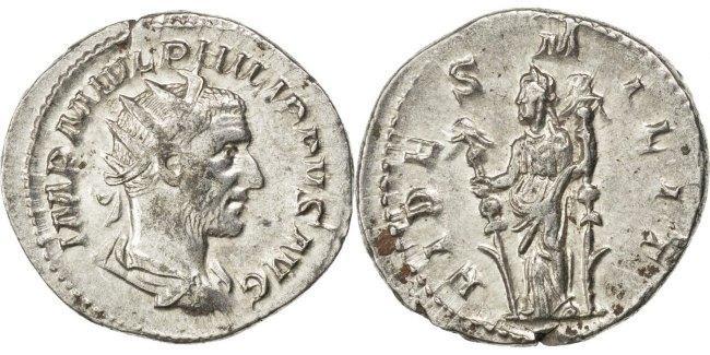 Antoninianus  Philip I AU(50-53)