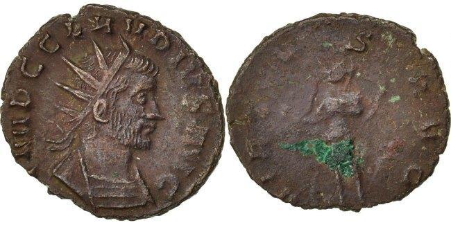 Antoninianus  Claudius AU(50-53)