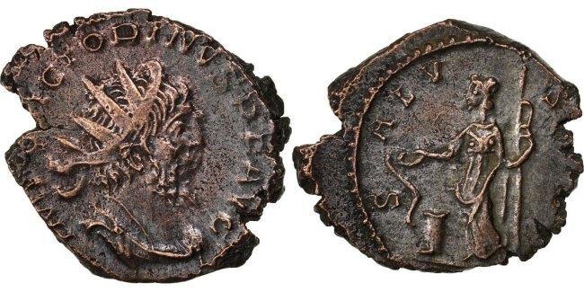 Antoninianus  Victorinus AU(50-53)