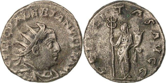 Antoninianus  Valerian I AU(50-53)