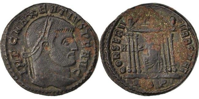 Follis  Maxentius EF(40-45)