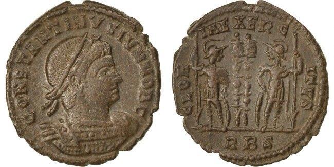 Nummus Roma Constantine II AU(50-53)