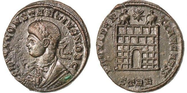 Nummus Trier Constantius II AU(50-53)
