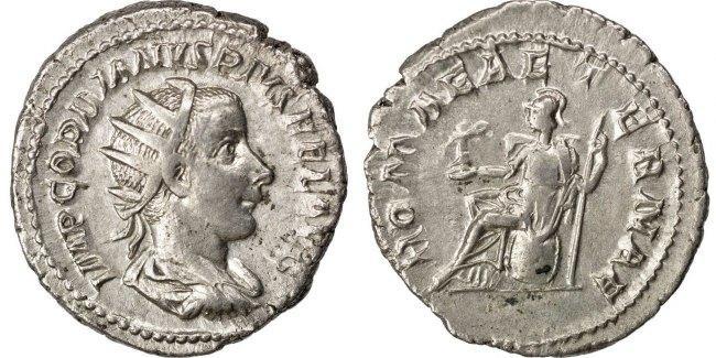Antoninianus  Gordian III AU(50-53)