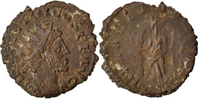 Antoninianus  Tetricus I EF(40-45)