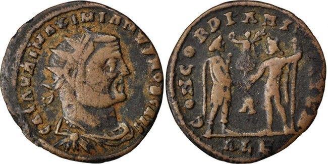 Antoninianus Alexandria Galerius EF(40-45)
