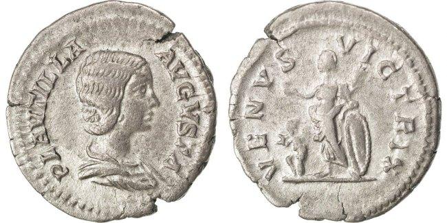 Denarius  Plautilla AU(50-53)