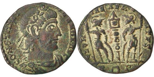 Nummus  Constantine I AU(50-53)