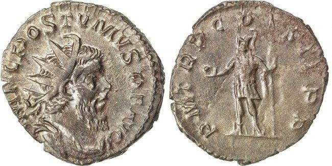 Antoninianus  Postumus EF(40-45)