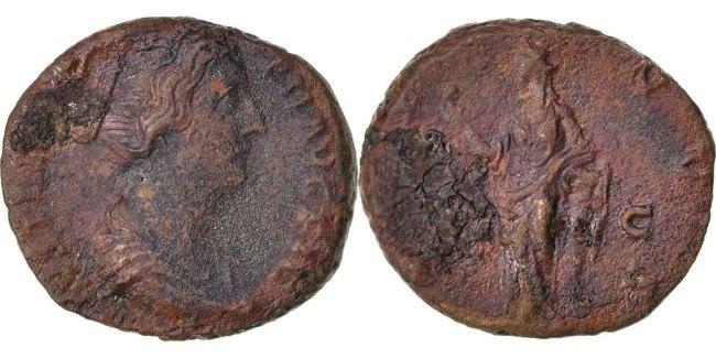 As  Faustina II EF(40-45)