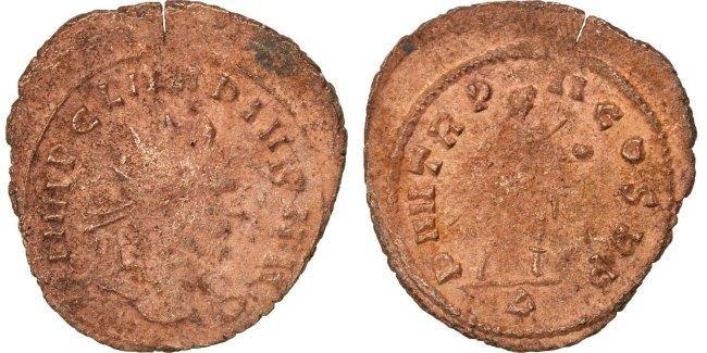 Antoninianus  Claudius II (Gothicus) EF(40-45)
