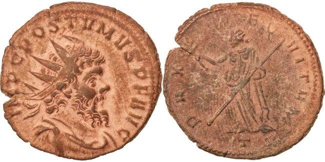 Antoninianus  Aureolus AU(55-58)