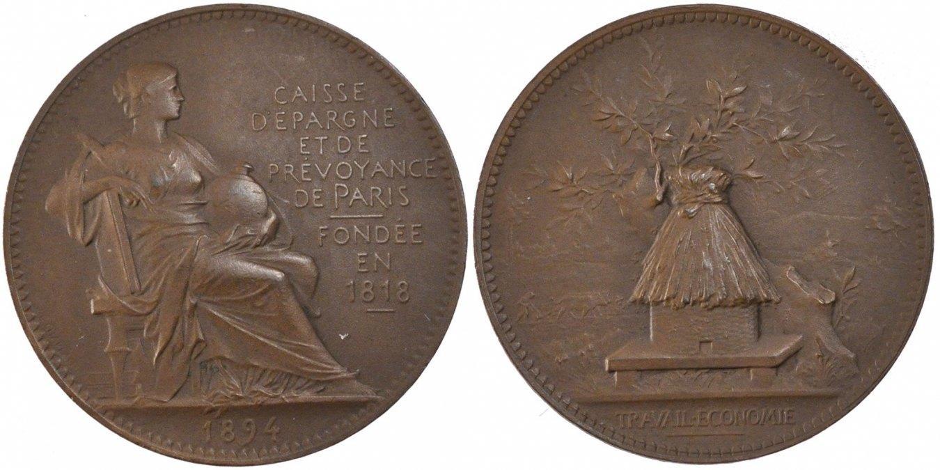 Token 1894 Frankreich AU(55-58)
