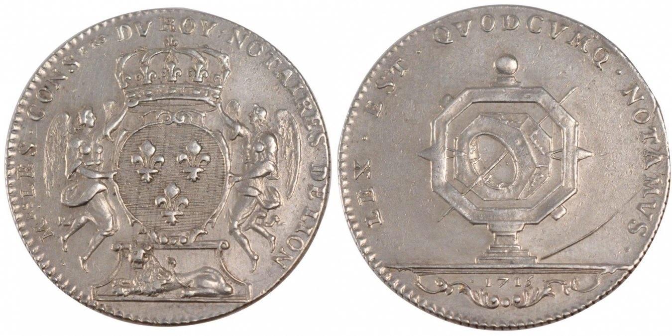 Token 1715 Frankreich AU(50-53)