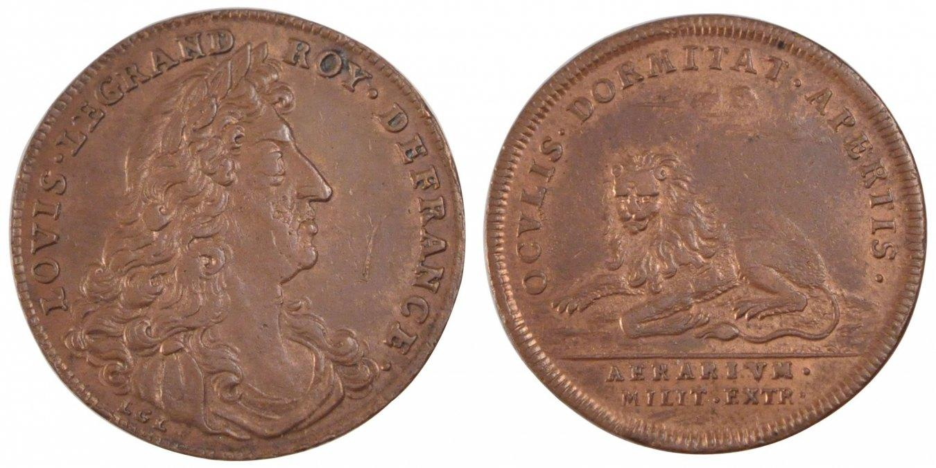 Token Frankreich France, Royal, Copper, Feuardent #949, 4.59 VZ+