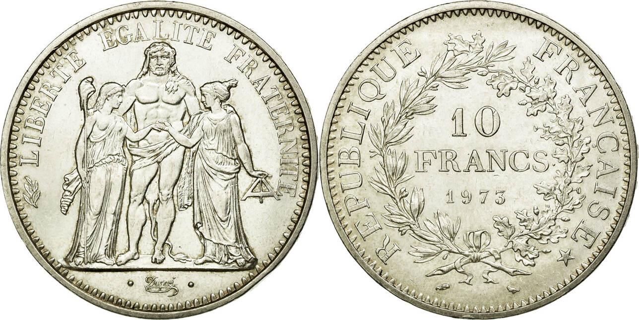 10 Francs 1973 Frankreich Hercule MS(60-62)