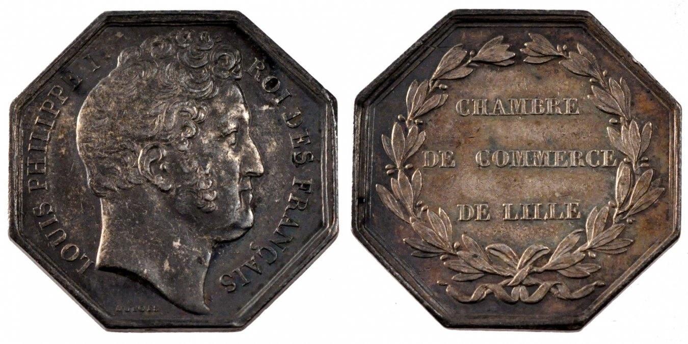 Token Lille Frankreich AU(55-58)
