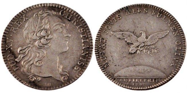 Token 1749 Frankreich AU(50-53)
