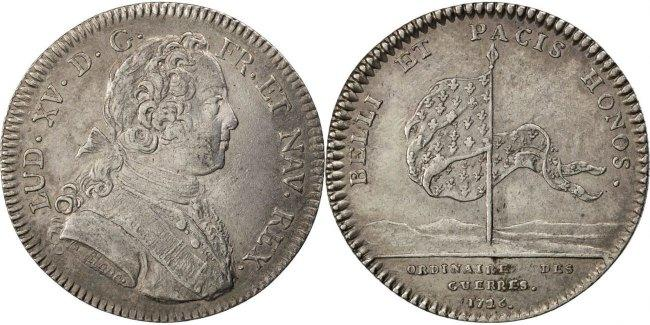 Token 1726 Frankreich AU(50-53)