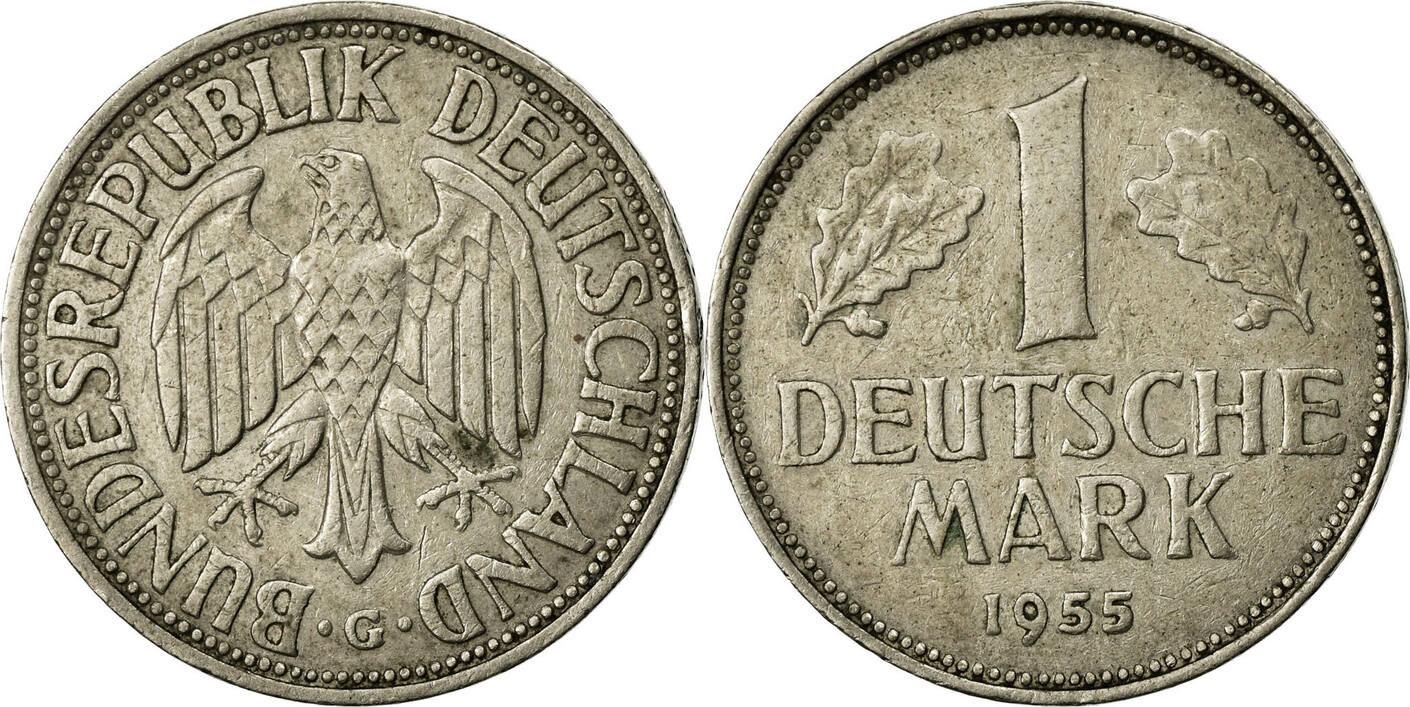 Mark 1955 J Bundesrepublik Deutschland AU(50-53)